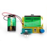 Измеритель ESR и емкости конденсаторов, индуктивностей, тестер транзисторов  (R - 0.5Ω-20MΩ, C - 30p